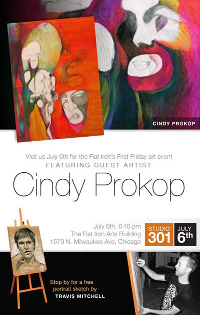 Guest Artist Cindy Prokop.